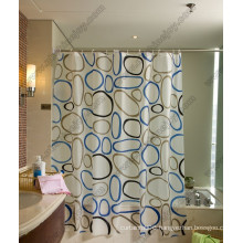 Circle Pattern Shower Curtain